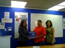 Contractors State License Services (CSLS) Awards Victor Perez Full Scholarship, Fresno California