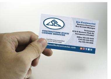 Contractors State License Service Established